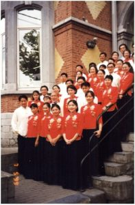 Taipei Philharmonic Chorus, conducted by Dirk Duhei - Photo: Nadine Robin