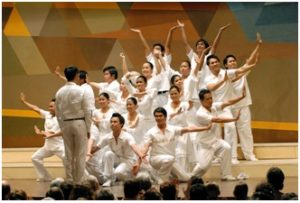 Imusicapella, Imus, Cavite, Philippines, conducted by Tristan C. Ignacio International Chamber Choir Competition 2007 in Marktoberdorf - Photo: Dolf Rabus
