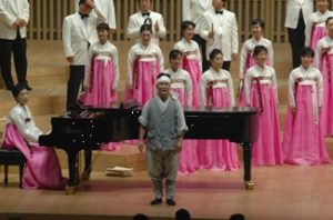 National Chorus of Korea at WSCM7 - Photo: Dolf Rabus