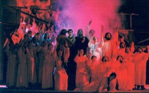 The chorus of the National Academic Bolshoi Theatre of Opera and Ballet of the Republic of Belarus