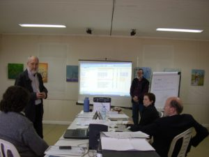 Artistic Committee members during the last meeting